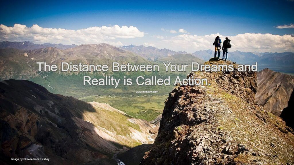 Distance between Dreams and Reality